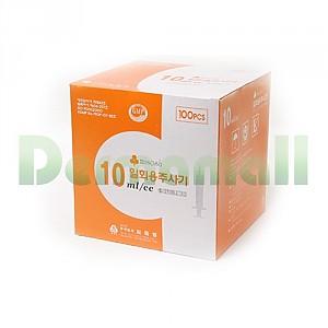 [씨피엘]일회용주사기(Disposable Syringe) 10cc 22G (1-1/4 inch)