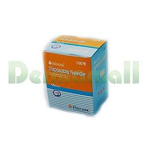 [씨피엘]일회용주사침(Disposable Needle) 21G (1-1/4인치)