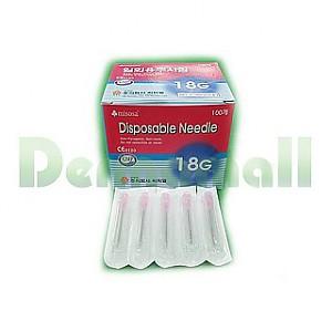 [씨피엘]일회용주사침(Disposable Needle) 18G(1-1/2인치)