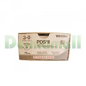 봉합사 PDS*II(에치콘) , W9077H(4/0,17mm,round,70cm)