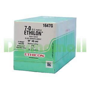 나이론봉합사 (ETHILON) 7/0-8mm (1647G) BX(12ea)