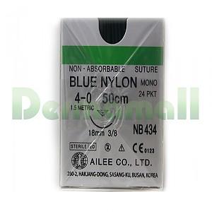 나이론봉합사(Nylon)4/0-18mm (NB434)
